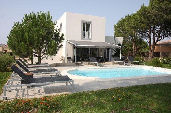 La villa Amandine, à Calvi.